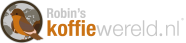 ROBIN's KOFFIEWERELD logo HOMEPAGE
