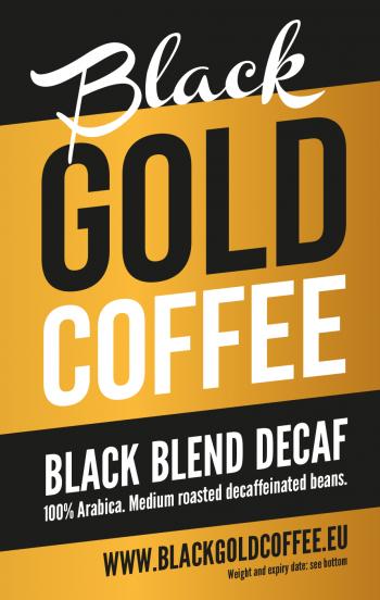 Black Gold Coffee Decaf